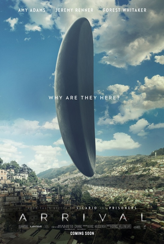 Arrival poster, © 2016 Universal Pictures International