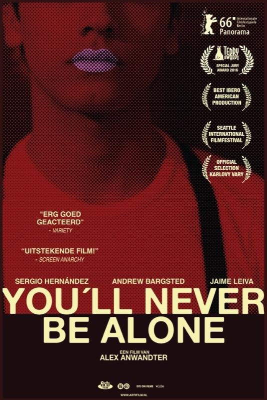 Nunca vas a estar solo poster, © 2016 Arti Film