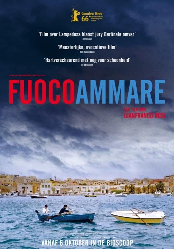 Fuocoammare poster, © 2016 Cinéart