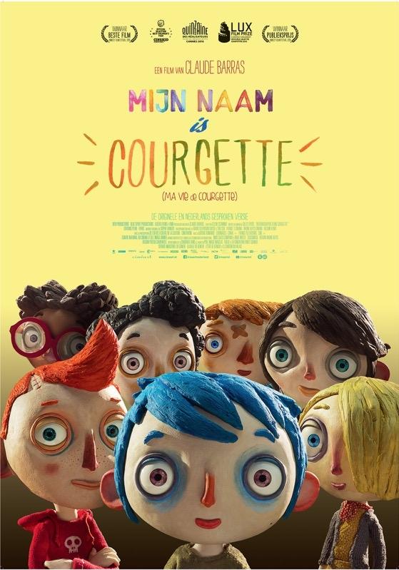 Ma vie de courgette poster, © 2016 Cinéart