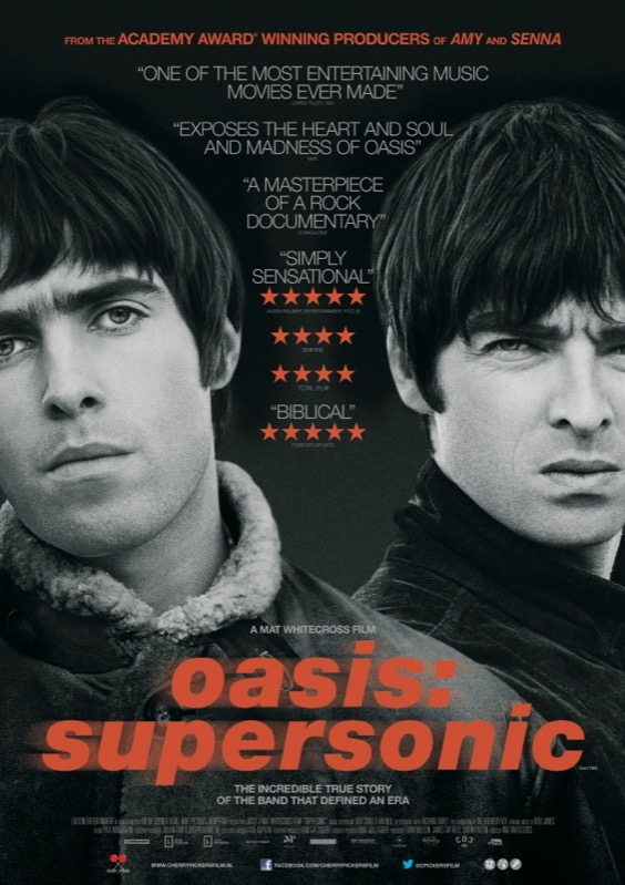 Oasis: Supersonic poster, © 2016 Cherry Pickers