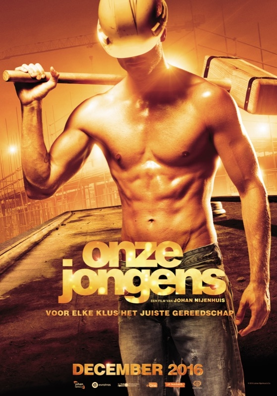Onze Jongens poster, © 2016 Entertainment One Benelux