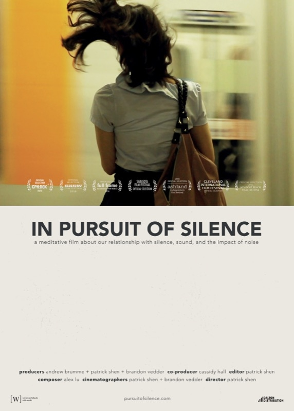 In Pursuit of Silence poster, © 2015 Amstelfilm