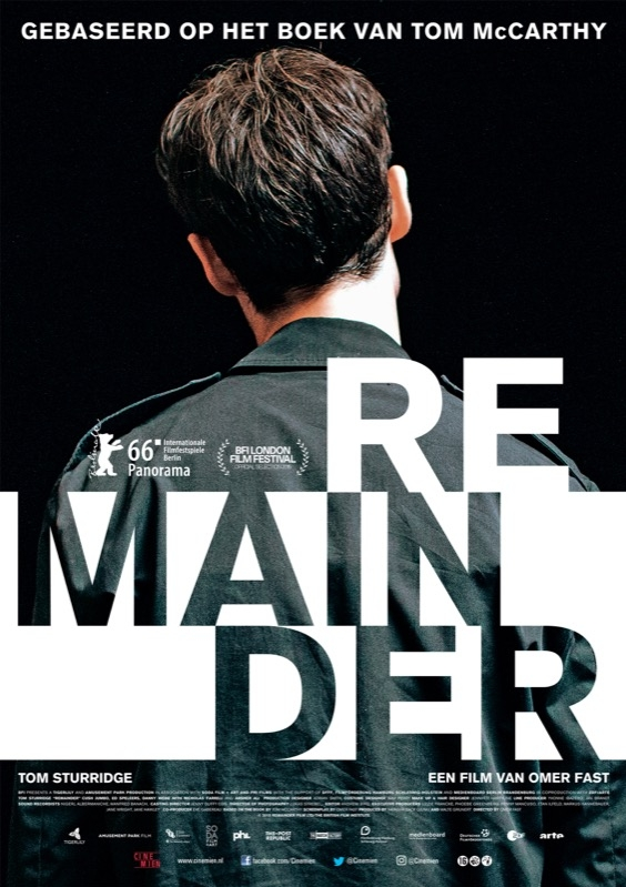 Remainder poster, © 2015 Cinemien