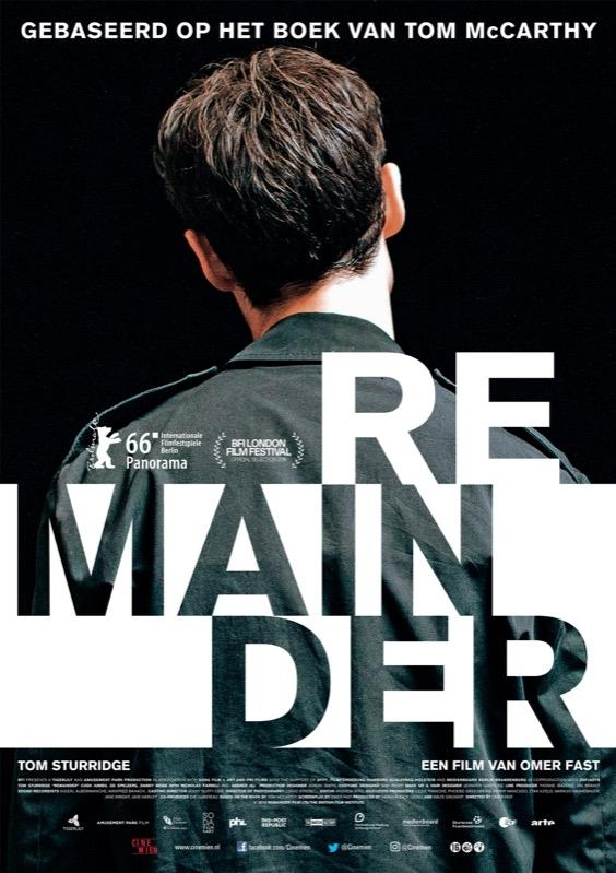 Remainder poster, © 2015 Cinemien