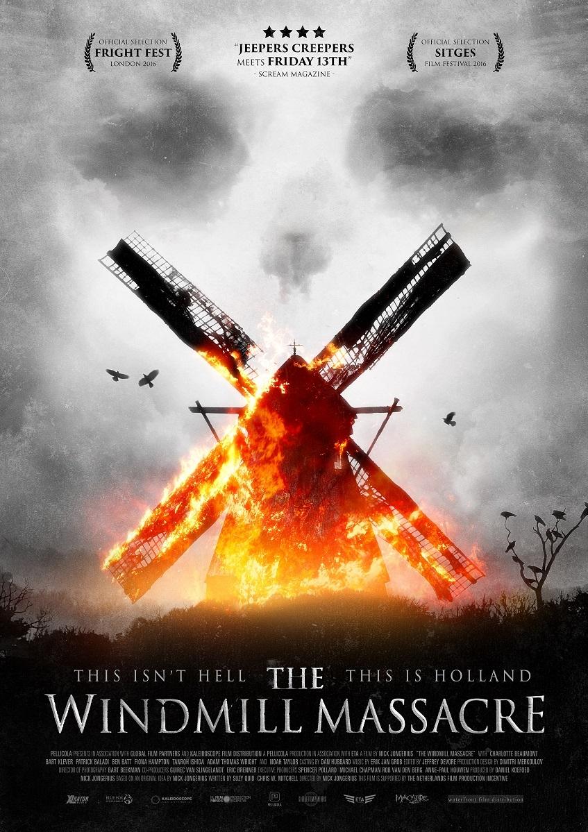 The Windmill Massacre poster, © 2016 Waterfront Film Distribution