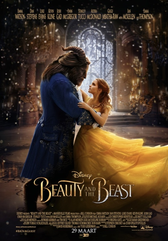 Beauty and the Beast poster, © 2017 Walt Disney Pictures