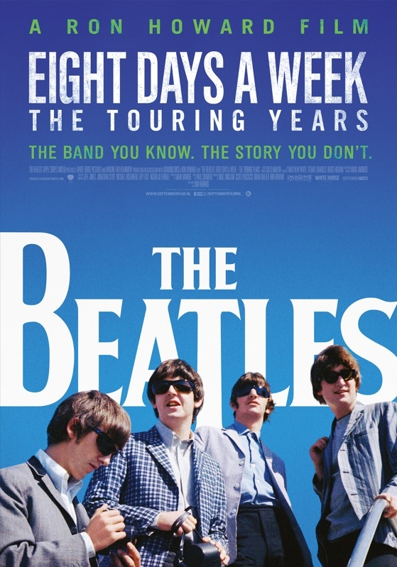 The Beatles: Eight Days a Week - The Touring Years poster, © 2016 September