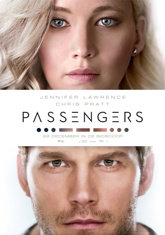Passengers poster, © 2016 Universal Pictures International