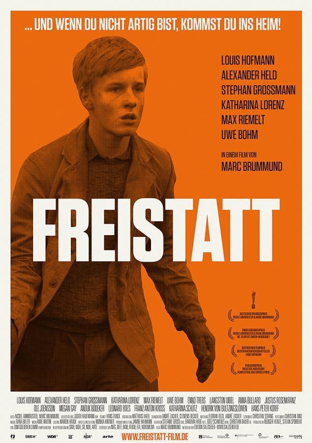 Freistatt poster, copyright in handen van productiestudio en/of distributeur