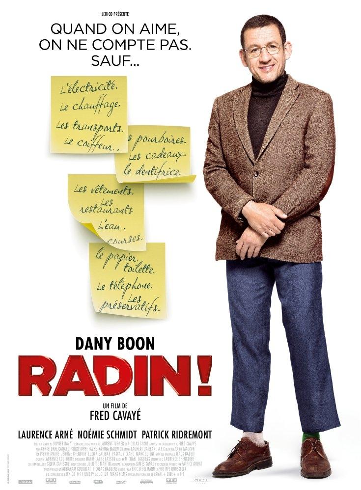 Radin! poster, copyright in handen van productiestudio en/of distributeur