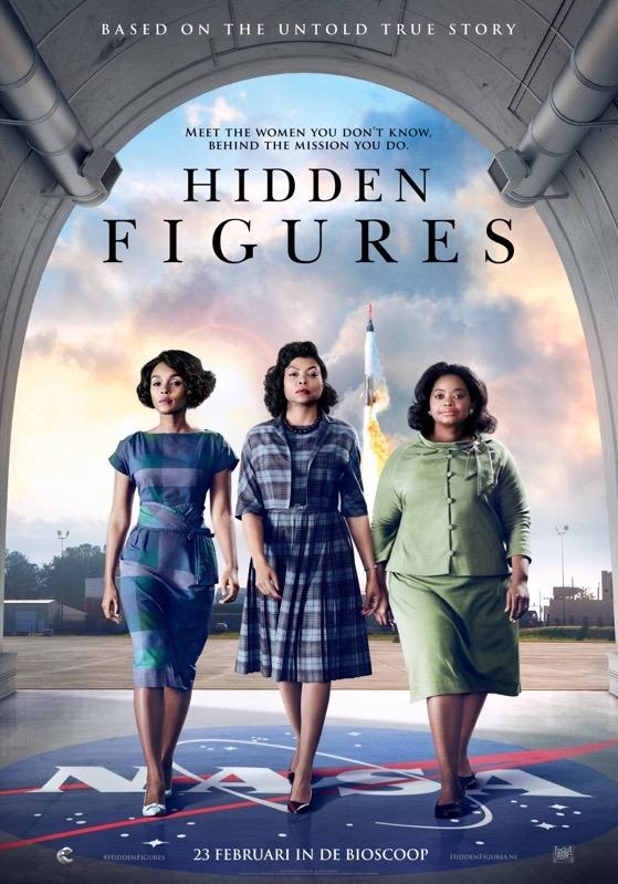 Hidden Figures poster, © 2017 20th Century Fox