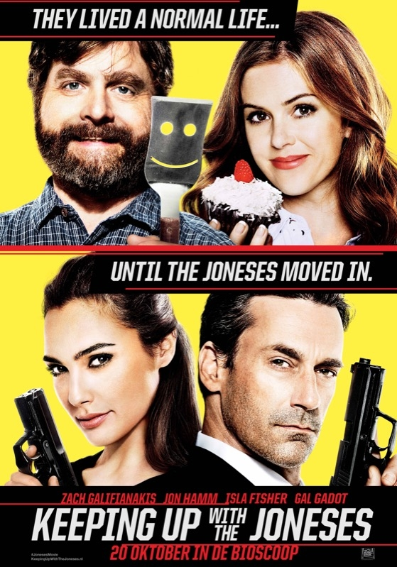 Keeping Up with the Joneses poster, © 2016 20th Century Fox