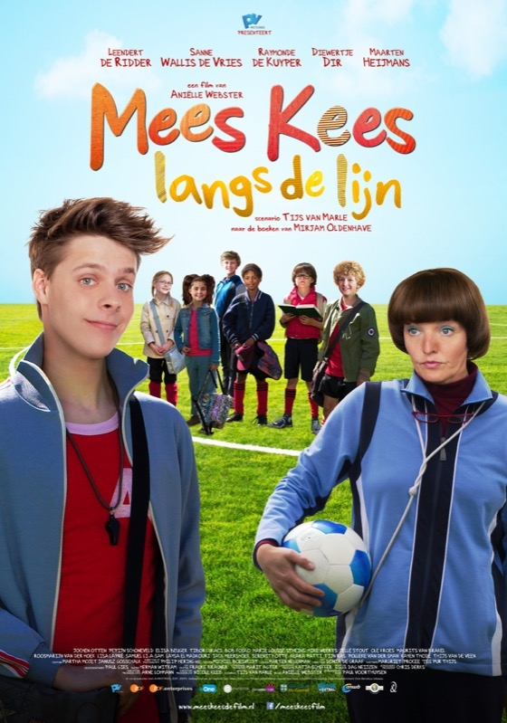 Mees Kees langs de lijn poster, © 2016 Entertainment One Benelux