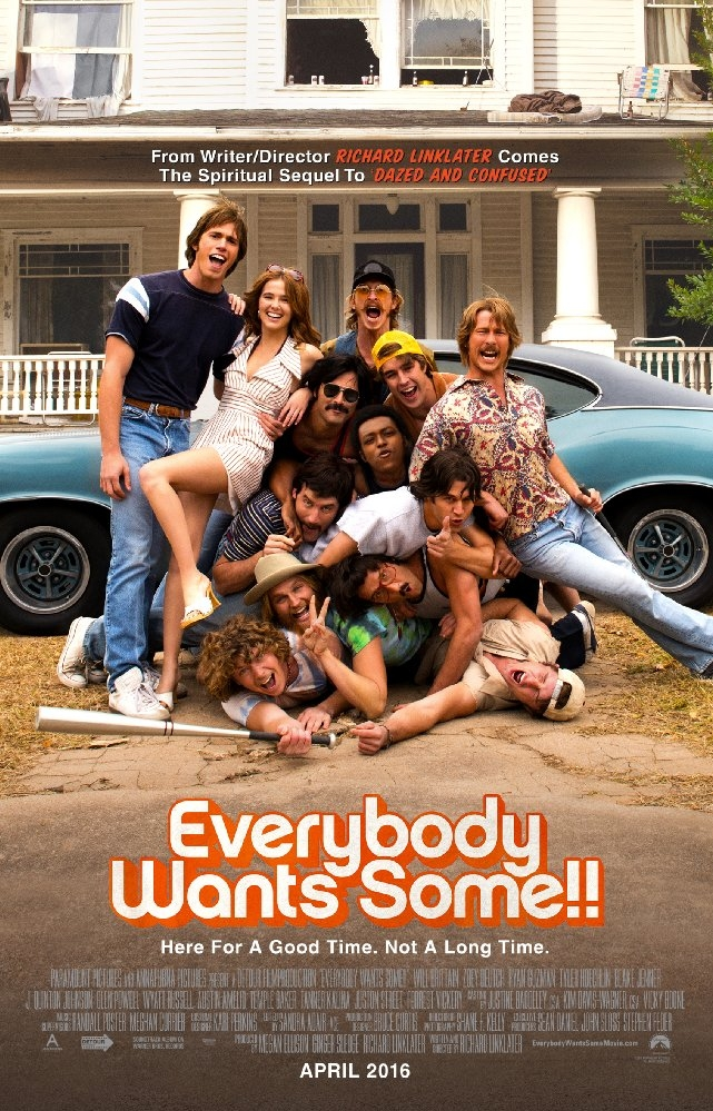 Everybody Wants Some!! poster, © 2016 Just Film Distribution