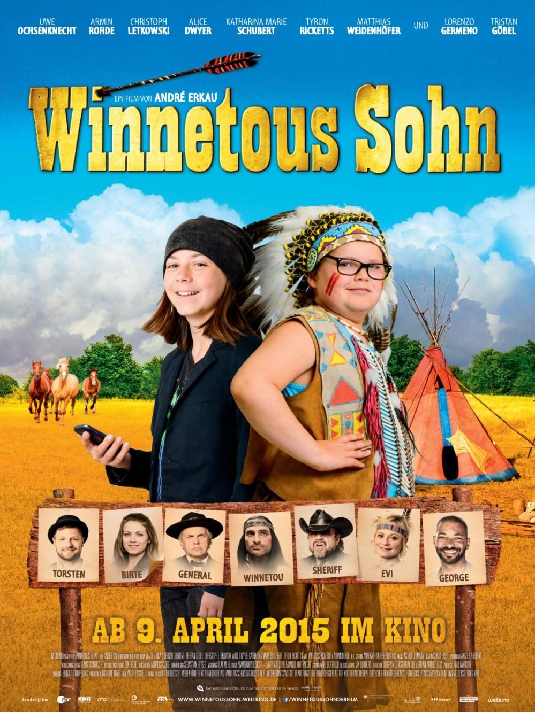 Winnetous Sohn poster, copyright in handen van productiestudio en/of distributeur
