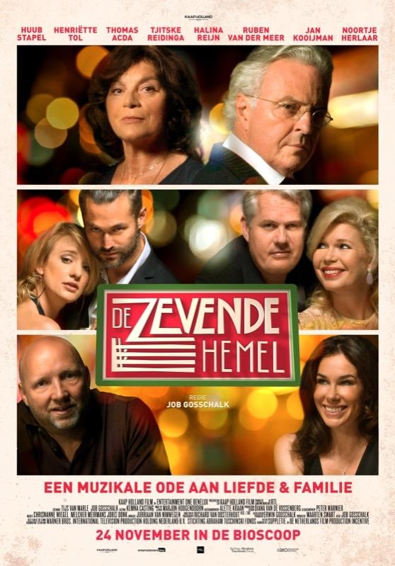 De Zevende Hemel poster, © 2016 Entertainment One Benelux
