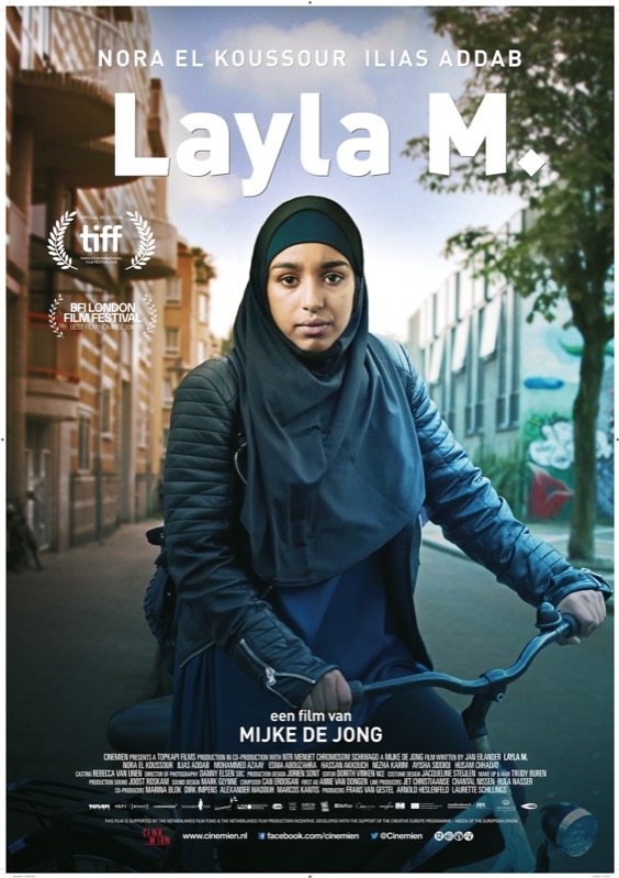 Layla M poster, © 2016 Cinemien