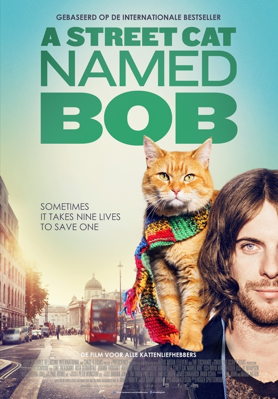 A Street Cat Named Bob poster, © 2016 Entertainment One Benelux