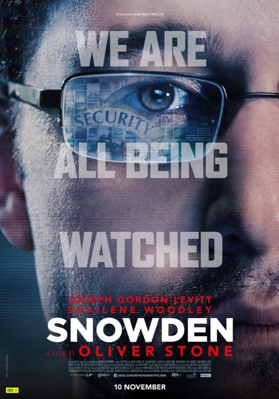 Snowden poster, © 2015 Independent Films