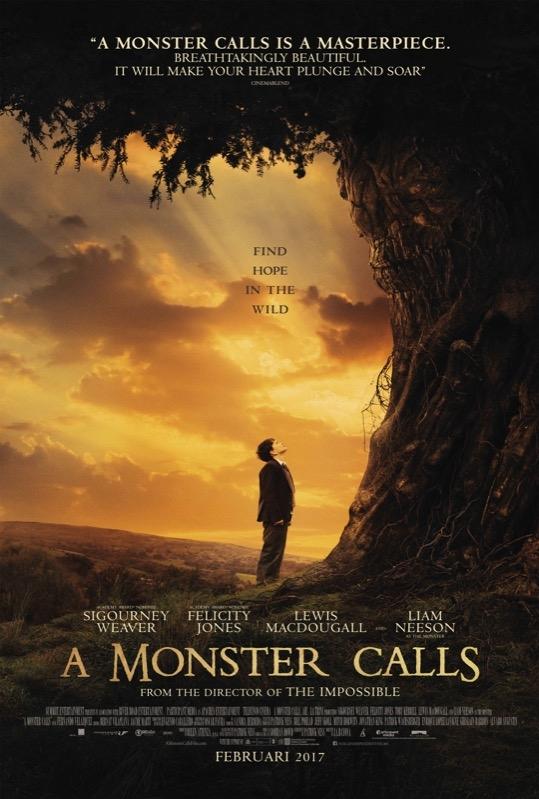 A Monster Calls poster, © 2016 Independent Films