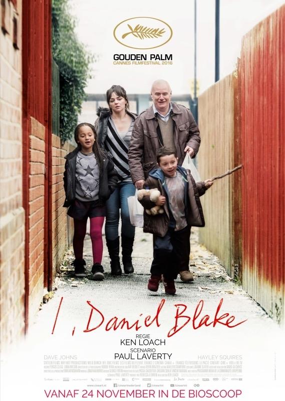 I, Daniel Blake poster, © 2016 Cinéart