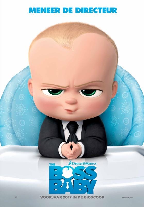 The Boss Baby poster, © 2017 20th Century Fox