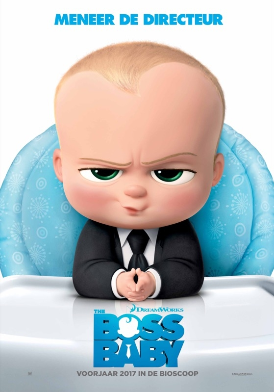 The Boss Baby poster, © 2017 20th Century Fox