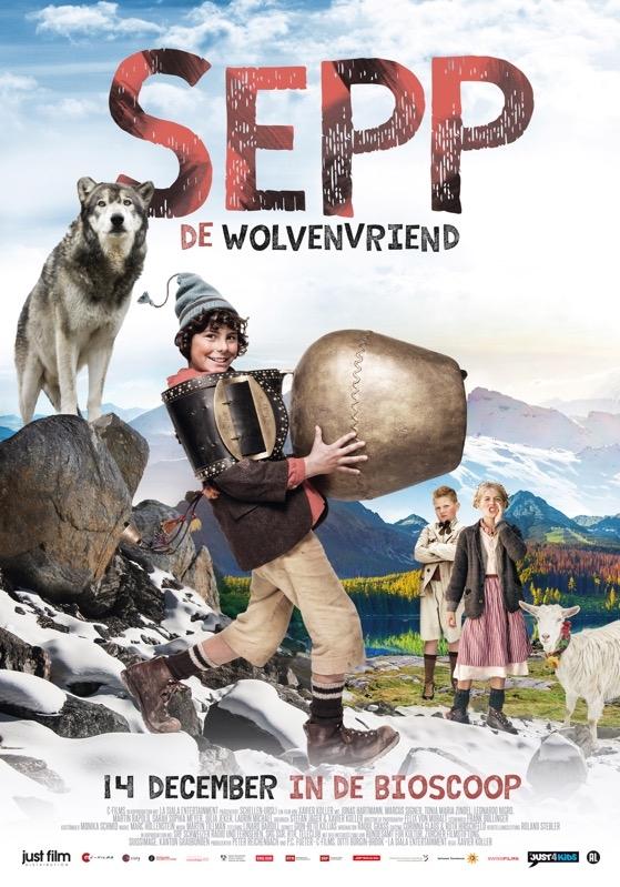 Sepp - De Wolvenvriend poster, © 2015 Just Film Distribution