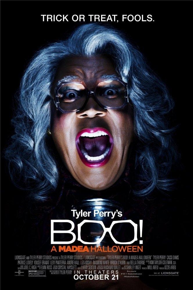 Boo! A Madea Halloween poster, copyright in handen van productiestudio en/of distributeur