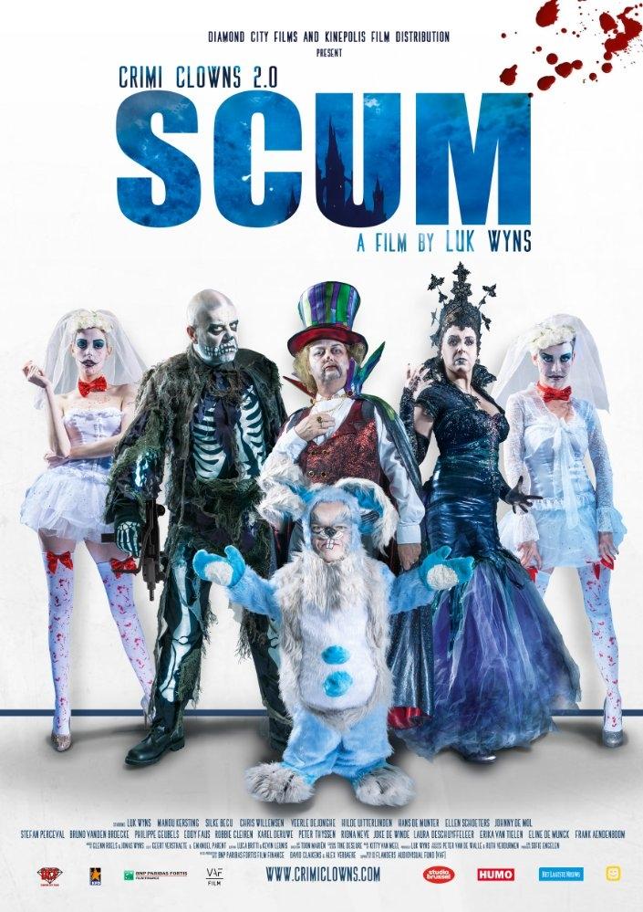 Uitschot: Scum poster, copyright in handen van productiestudio en/of distributeur