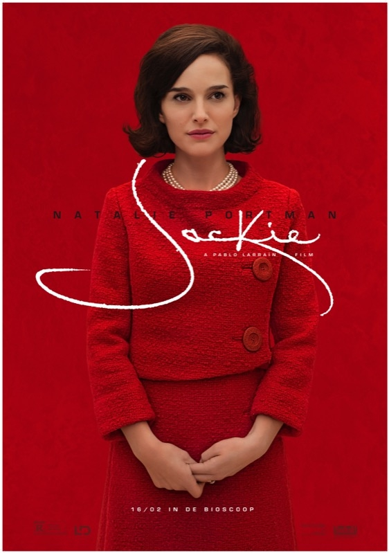 Jackie poster, © 2017 The Searchers