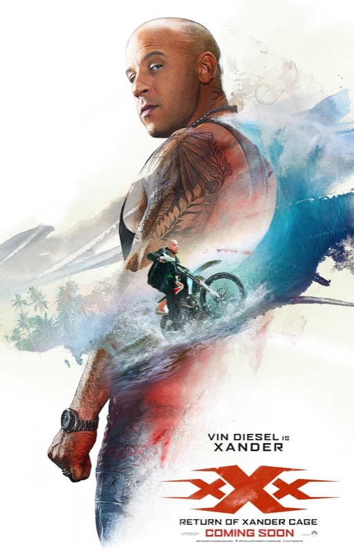 xXx: Return of Xander Cage poster, © 2017 Universal Pictures International