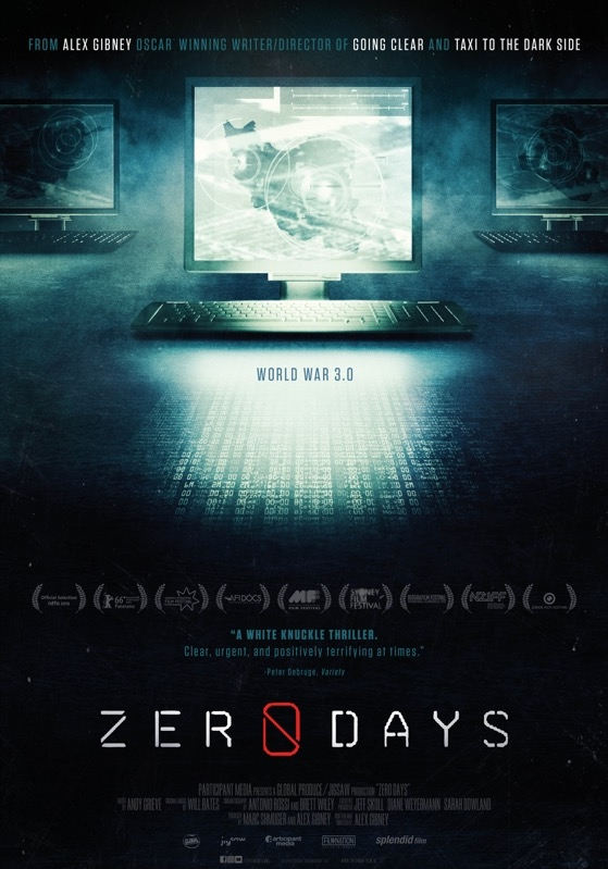 Zero Days poster, © 2016 Splendid Film