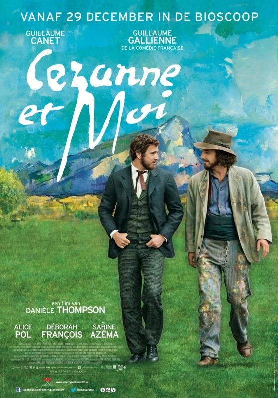 Cézanne et moi poster, © 2016 Cherry Pickers