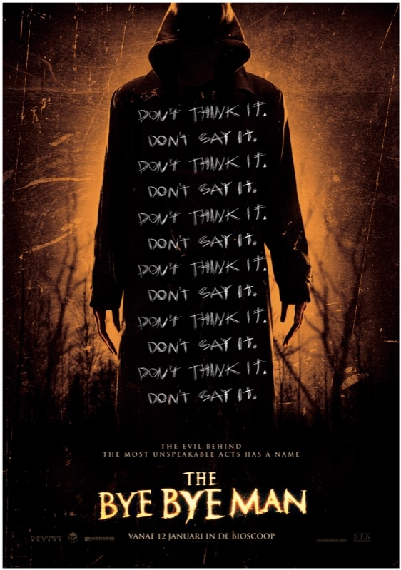 The Bye Bye Man poster, © 2016 The Searchers