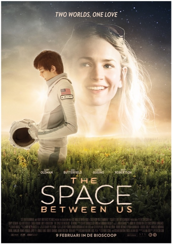 The Space Between Us poster, © 2016 The Searchers