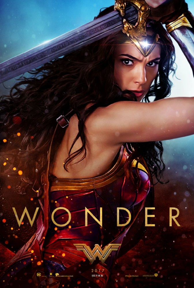 Wonder Woman poster, © 2017 Warner Bros.