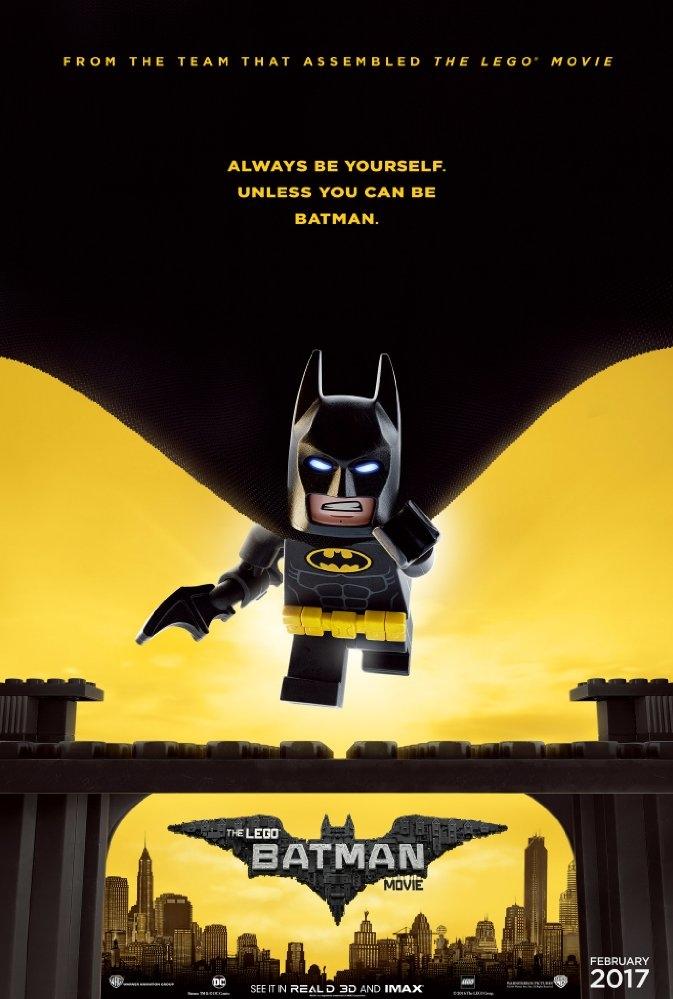 The Lego Batman Movie poster, © 2017 Warner Bros.