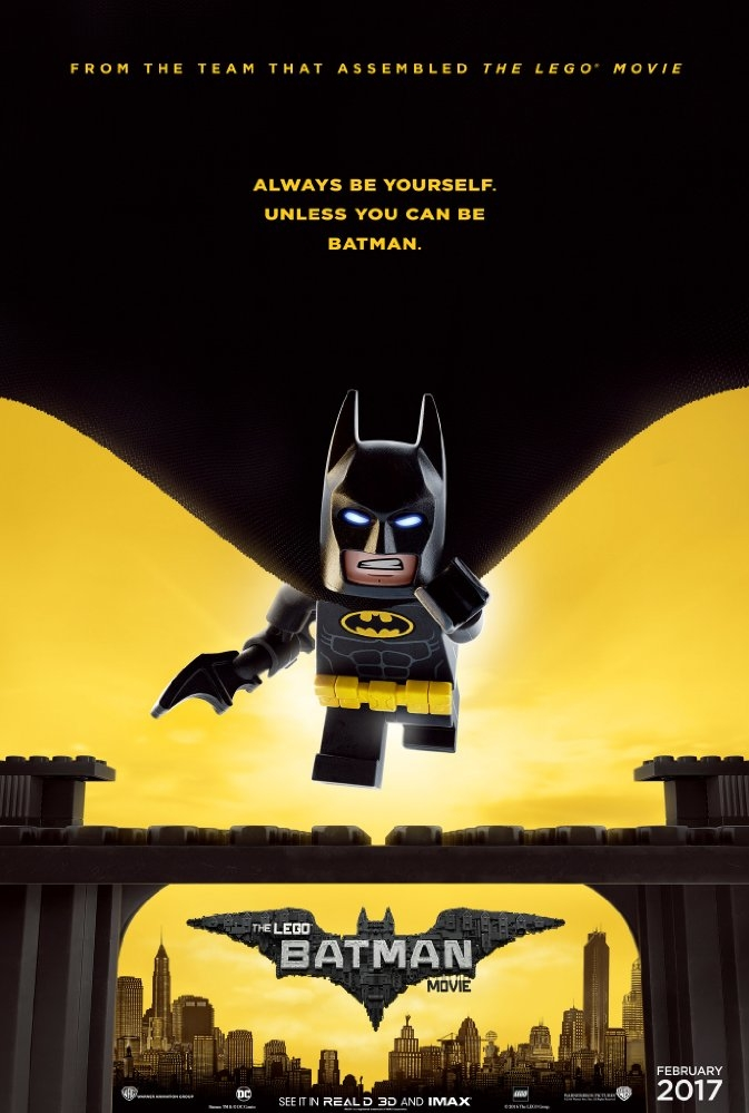 The Lego Batman Movie poster, © 2017 Warner Bros.