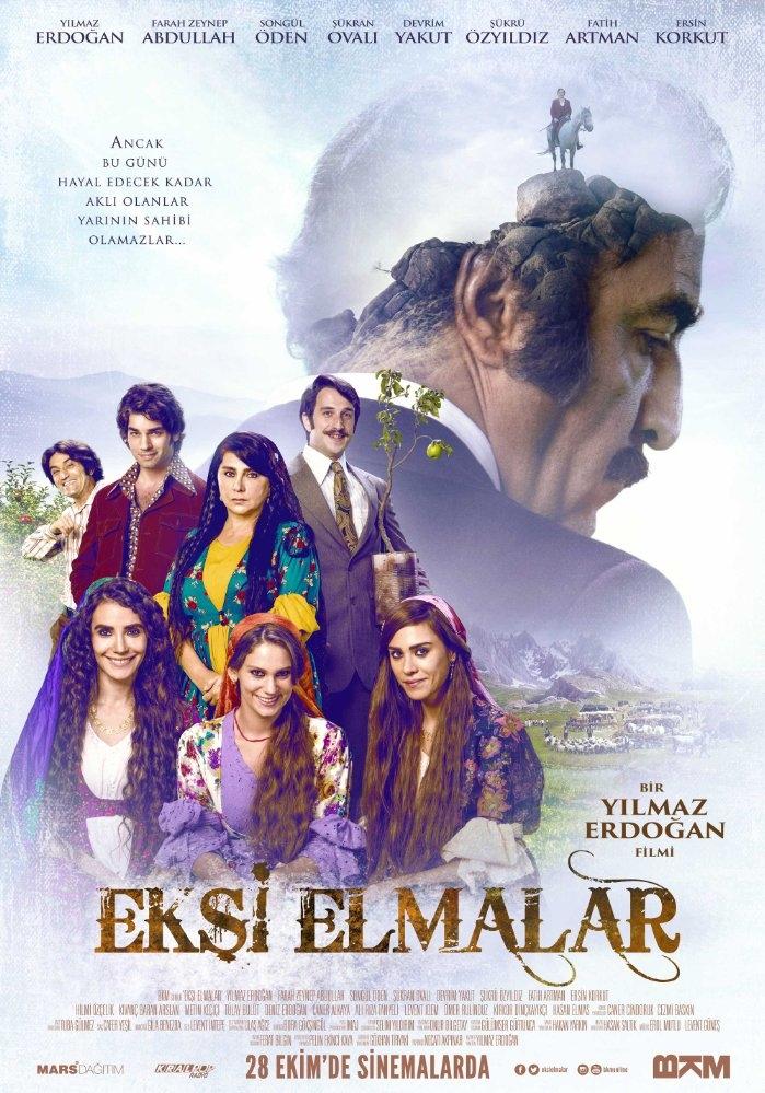 Eksi Elmalar poster, copyright in handen van productiestudio en/of distributeur
