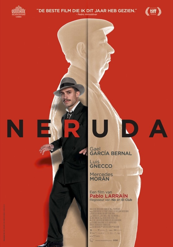 Neruda poster, © 2016 Imagine