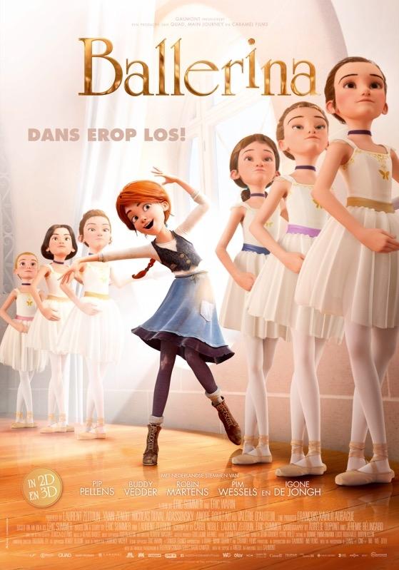 Ballerina poster, © 2016 Independent Films