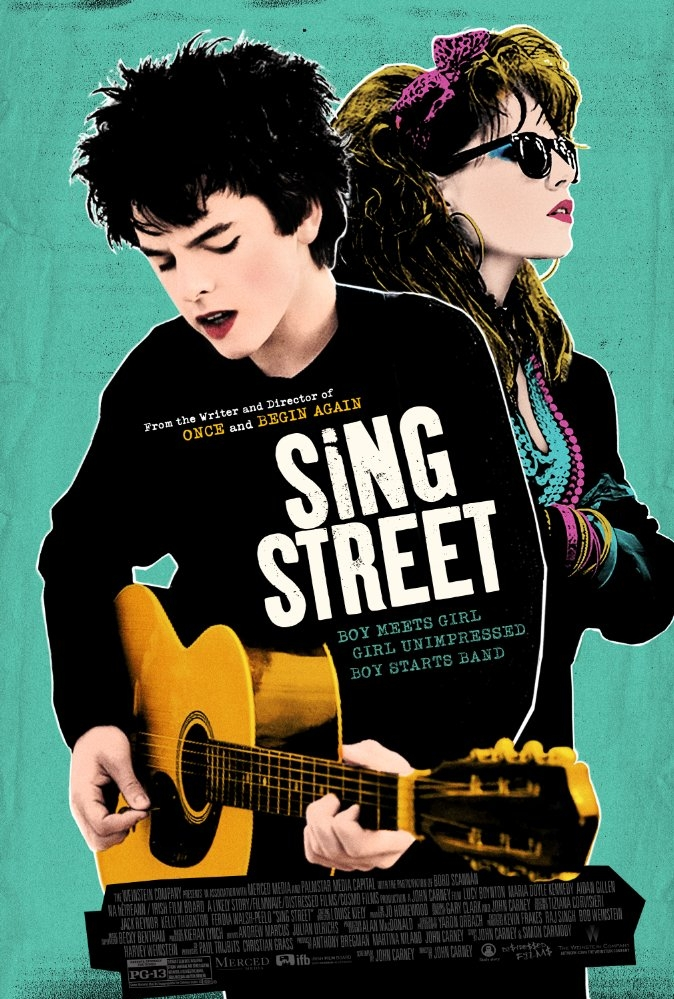 Sing Street poster, © 2016 Independent Films