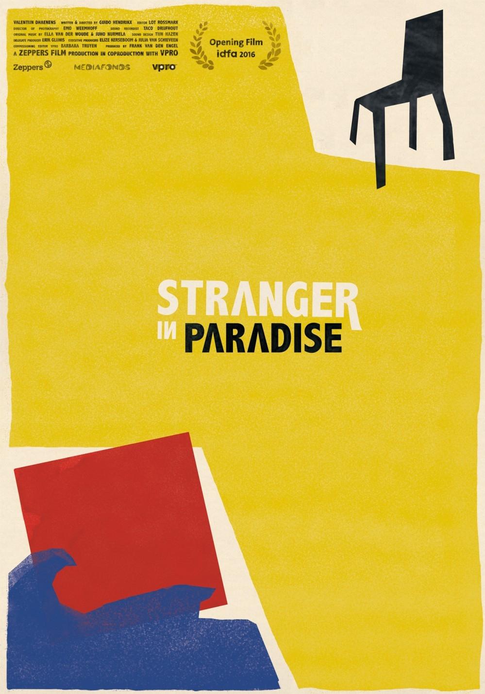 Stranger In Paradise poster, © 2016 Cinema Delicatessen