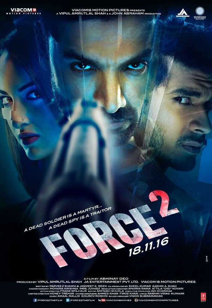Force 2 poster, copyright in handen van productiestudio en/of distributeur