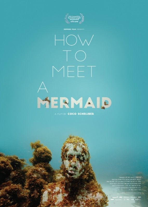 How to Meet a Mermaid poster, © 2016 Cinema Delicatessen