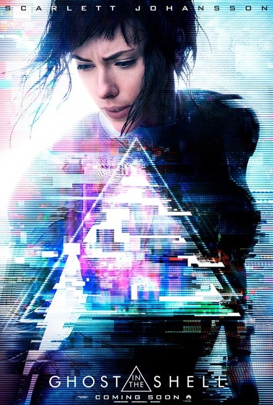 Ghost in the Shell poster, © 2017 Universal Pictures International