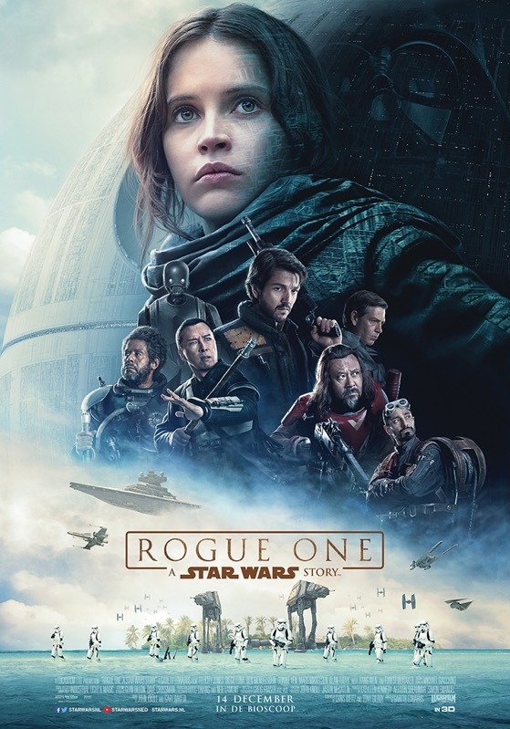 Rogue One: A Star Wars Story poster, © 2016 Walt Disney Pictures