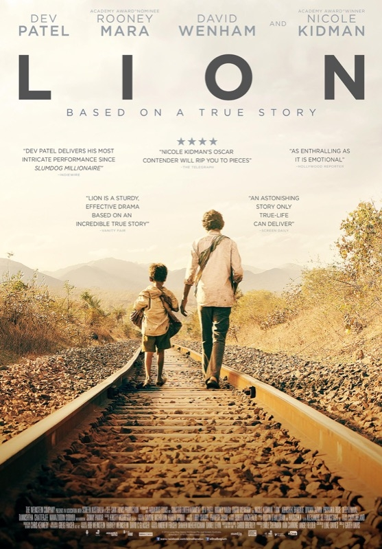 Lion poster, © 2016 Entertainment One Benelux
